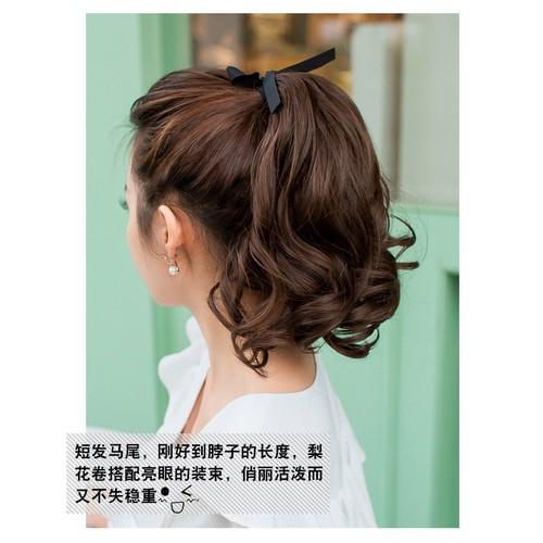 [Tóc giả nữ ] tóc cột xoăn ngắn 30cm, chất tóc cam kết y tóc thật, sơ tóc dệt thủ công tơ thực vật- có 3 màu: đen, nâu đỏ, nâu vàng, cột chắc chắn.tóc cột ngắn, tóc giả xoăn, tóc cột nữ xoăn-tóc cột đ - 17962509 , 22520838 , 15_22520838 , 139000 , Toc-gia-nu-toc-cot-xoan-ngan-30cm-chat-toc-cam-ket-y-toc-that-so-toc-det-thu-cong-to-thuc-vat-co-3-mau-den-nau-do-nau-vang-cot-chac-chan.toc-cot-ngan-toc-gia-xoan-toc-cot-nu-xoan-toc-cot-duoi-toc-cot-han-q