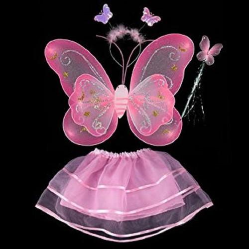 Bộ cánh bướm kèm chân váy và phụ kiện cho bé hay - 19601504 , 22636325 , 15_22636325 , 99000 , Bo-canh-buom-kem-chan-vay-va-phu-kien-cho-be-hay-15_22636325 , sendo.vn , Bộ cánh bướm kèm chân váy và phụ kiện cho bé hay