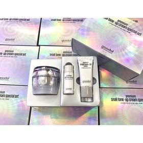 Hàn Quốc - Set dưỡng da lên tone Ốc Sên 3 Sản Phẩm Goodal Premium Snail Tone Up Cream Special - 2014