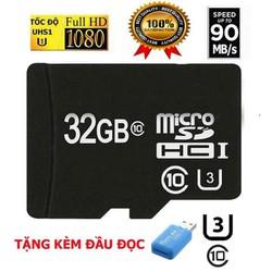 Thiết bị lưu trữ thẻ nhớ 32gb microsc hd tốc độ cao load cực nhanh