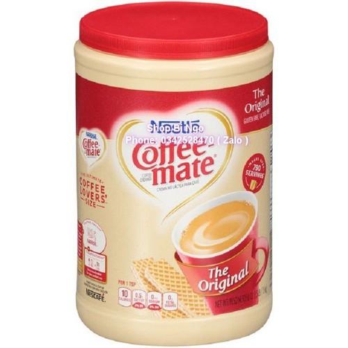 Bột kem pha cà phê nestle coffee mate original 1.5kg - 17979625 , 22546146 , 15_22546146 , 299000 , Bot-kem-pha-ca-phe-nestle-coffee-mate-original-1.5kg-15_22546146 , sendo.vn , Bột kem pha cà phê nestle coffee mate original 1.5kg