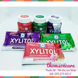 Kẹo cao su Xylitol Không đường  ngừa sâu răng