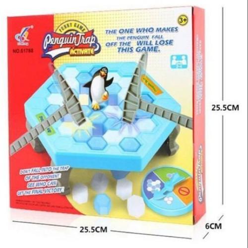 Đập băng chim cánh cụt trò chơi nhóm vui nhộn mã sp sku qq2537