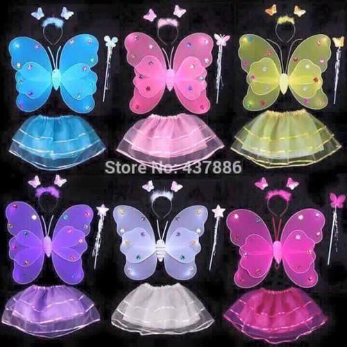 Bộ cánh bướm thiên thần mã sp sku na8873