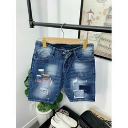 Quần shorts jeans nam cá tính