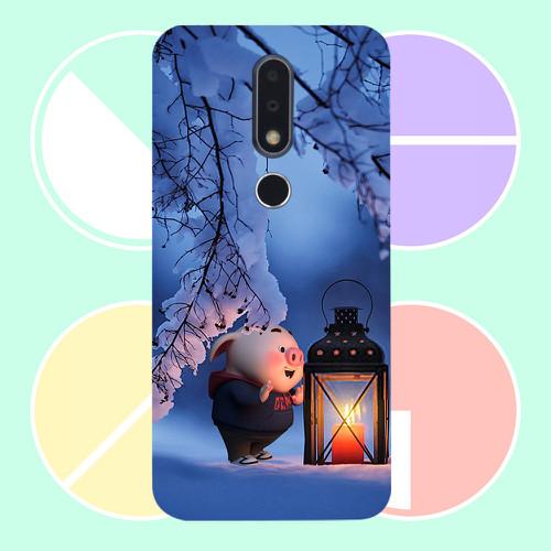 Ốp điện thoại dành cho máy nokia x6 - heo thiên thần dễ thương ms httdd055