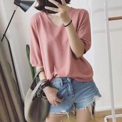 Áo len dệt kim nhiều màu AN79
