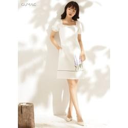 Đầm suông thêu Lavender GUMAC MS10935_TRANG