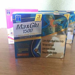 MaxGlu 1500 hỗ trợ xương khớp hộp 60 viên USA PHARMA