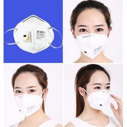 Khẩu trang chống bụi bẩn chống khi độc 9501V,Khẩu trang chống bụi mịn PM2.5