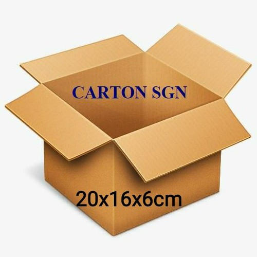Combo 20 thùng carton  20x16x6cm  hộp -thùng giấy carton giá rẻ - 17984151 , 22554339 , 15_22554339 , 43000 , Combo-20-thung-carton-20x16x6cm-hop-thung-giay-carton-gia-re-15_22554339 , sendo.vn , Combo 20 thùng carton  20x16x6cm  hộp -thùng giấy carton giá rẻ