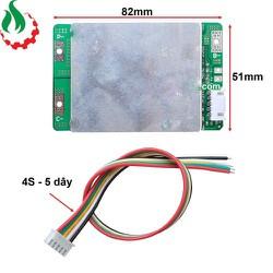 Mạch bảo vệ pin 4S, 3.2V, 100A 32650