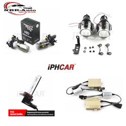 COMBO Cặp Bi gầm + Đèn Xenon + Balast xe ô tô IPHCar Xenon siêu sáng, chống nước 3inch