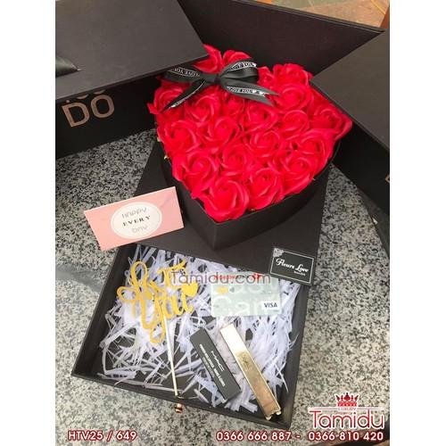 Hộp trái tim mở hoa sáp thơm đẹp nhất - món quà tỏ tình tuyệt vời - 17982797 , 22551697 , 15_22551697 , 1298000 , Hop-trai-tim-mo-hoa-sap-thom-dep-nhat-mon-qua-to-tinh-tuyet-voi-15_22551697 , sendo.vn , Hộp trái tim mở hoa sáp thơm đẹp nhất - món quà tỏ tình tuyệt vời