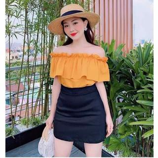 Quần giả váy công sở vnxk hàng đẹp chân váy thời trang giá sỉ - S_Vàng11 thumbnail