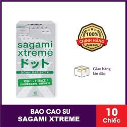 Bao cao su Sagami Xtreme White siêu mỏng Nhật Bản hộp 10 cái
