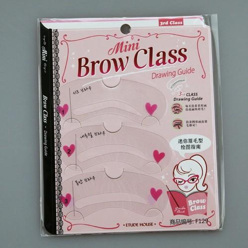 Khung kẻ chân mày brow class