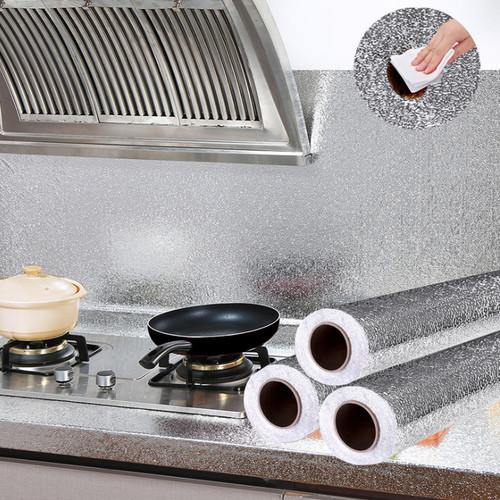 Cuộn 3 mét giấy dán bếp giấy lót nhôm cách nhiệt tiện dụng - 19596374 , 22627511 , 15_22627511 , 69000 , Cuon-3-met-giay-dan-bep-giay-lot-nhom-cach-nhiet-tien-dung-15_22627511 , sendo.vn , Cuộn 3 mét giấy dán bếp giấy lót nhôm cách nhiệt tiện dụng