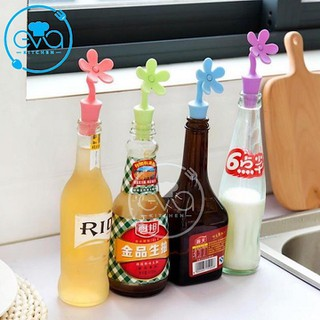 Set 2 Nút Đậy Chai Silicone Flower Bottle Cover - 0018000797 thumbnail