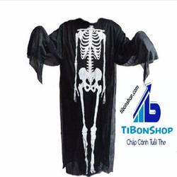 Trang phục hóa trang Halloween Áo bộ xương