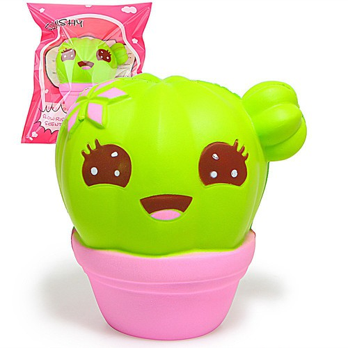 11cm jumbo kawaii squishy cartoon smile face cactus potted plants bread cream loamini565 - 19201108 , 22735508 , 15_22735508 , 94999 , 11cm-jumbo-kawaii-squishy-cartoon-smile-face-cactus-potted-plants-bread-cream-loamini565-15_22735508 , sendo.vn , 11cm jumbo kawaii squishy cartoon smile face cactus potted plants bread cream loamini565