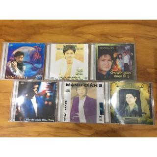 Bộ 6 Đĩa CD Mạnh Đình tuyển chọn hay nhất [ĐƯỢC KIỂM HÀNG] 22658995 - 22658995 thumbnail