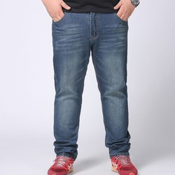 Quần jean nam big size phom đơn giản