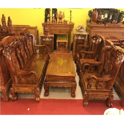 Bộ bàn ghế chạm đào gỗ cẩm lai tay 12- vân gỗ tuyển hàng vip - 18028053 , 22661627 , 15_22661627 , 129000000 , Bo-ban-ghe-cham-dao-go-cam-lai-tay-12-van-go-tuyen-hang-vip-15_22661627 , sendo.vn , Bộ bàn ghế chạm đào gỗ cẩm lai tay 12- vân gỗ tuyển hàng vip