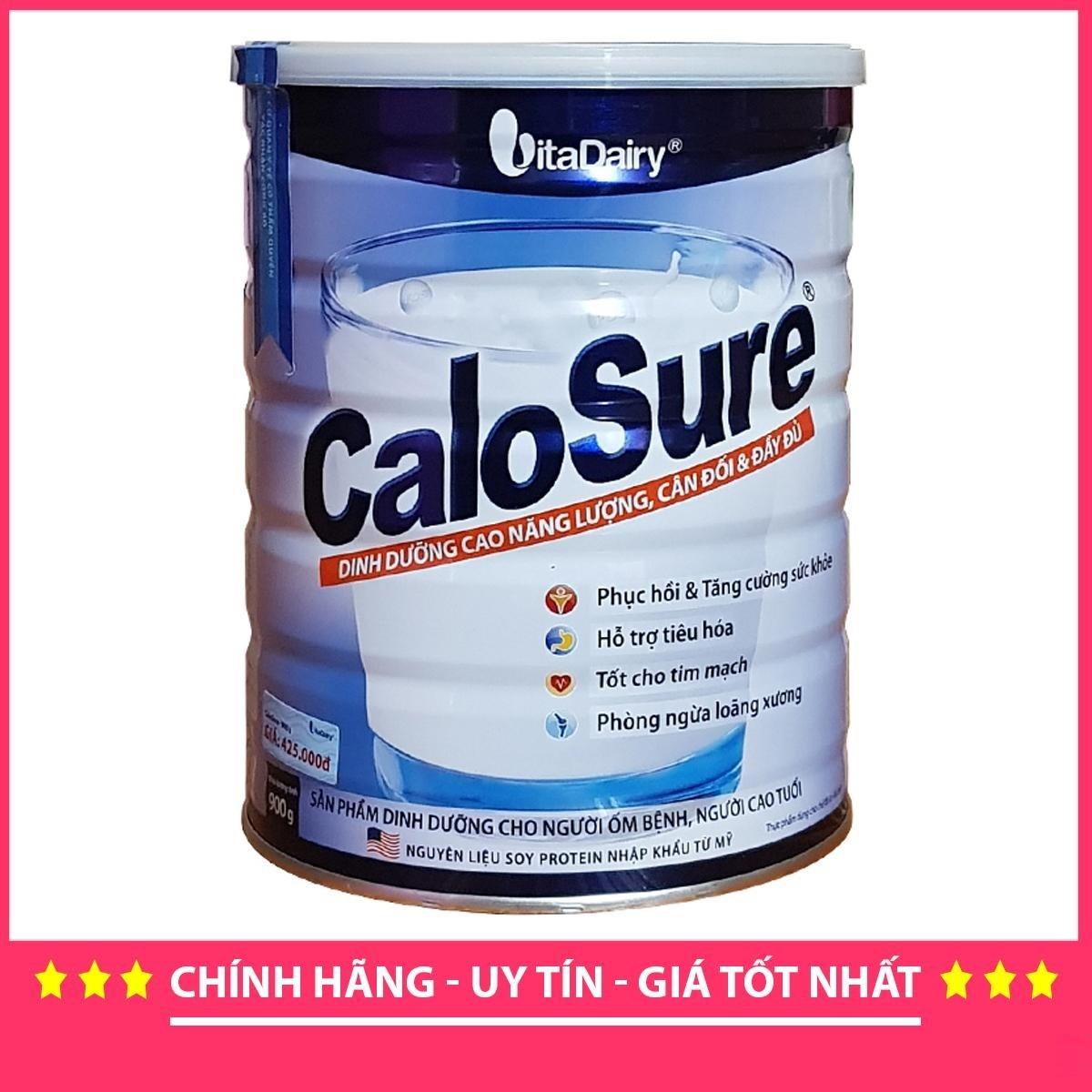 Sữa bột calosure 900g mẫu mới