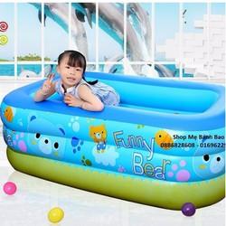 Bể phao bơi cho bé