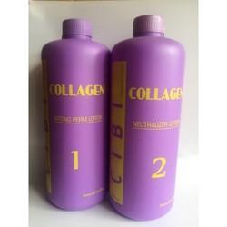 Thuốc uốn tóc setting Cibi collagen 1000ml