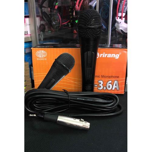 Micro có dây arirang mi-3.6a jack cắm 6.5ly - 18047190 , 22656273 , 15_22656273 , 90000 , Micro-co-day-arirang-mi-3.6a-jack-cam-6.5ly-15_22656273 , sendo.vn , Micro có dây arirang mi-3.6a jack cắm 6.5ly
