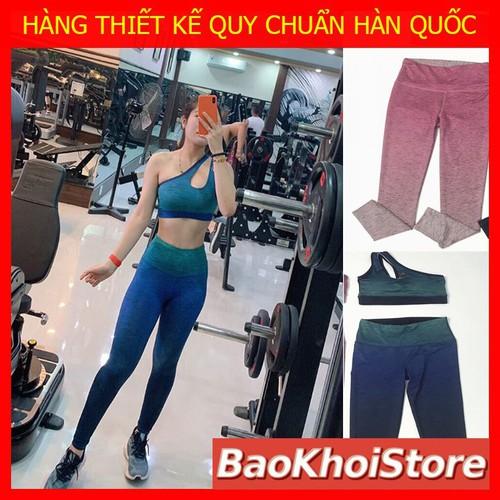Bộ quần áo tập gym yoga nữ