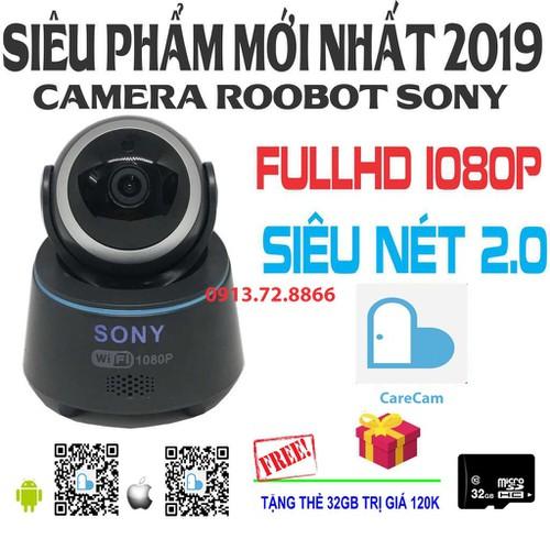 Camera sony wifi full hd 1080p siêu nét kèm thẻ nhớ 32gb