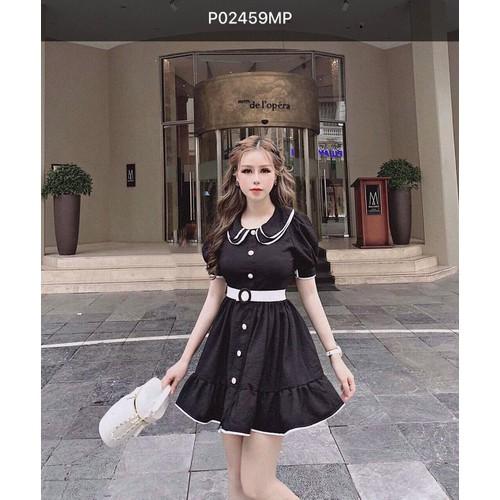 Đầm nữ đáng yêu dạo phố