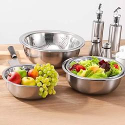 Bộ 5 chậu rửa hoa quả-Chậu inox nhà bếp