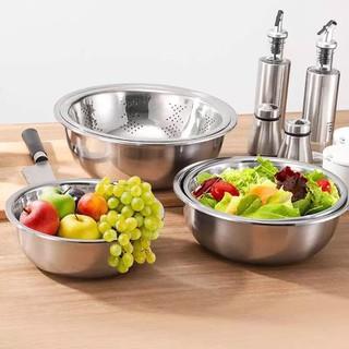 Bộ 5 chậu rửa hoa quả-Chậu inox nhà bếp - B5RCI001-Z thumbnail