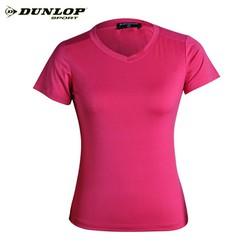 Áo thun thể thao Nữ Dunlop – DAGYS9144-2-PK Hàng chính hãng co giãn thoát mồ hôi tốt phù hợp tập Gym vận động nhiều