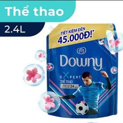 Túi nước xả vải đậm đặc Downy thể thao Expert Sports 2.4lit