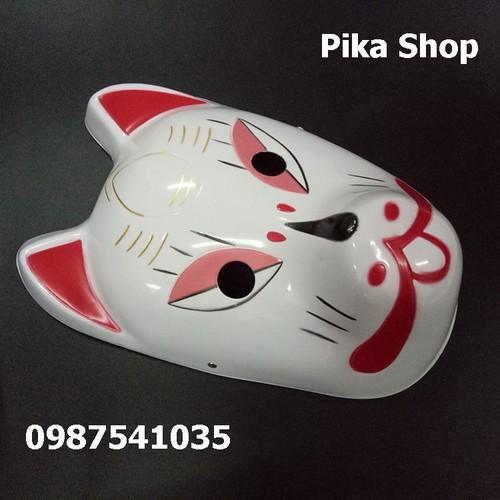 Mặt nạ cáo nhựa cosplay kitsune mask lỗ nghỉ bán ã 114 - 18088980 , 22710916 , 15_22710916 , 89999 , Mat-na-cao-nhua-cosplay-kitsune-mask-lo-nghi-ban-a-114-15_22710916 , sendo.vn , Mặt nạ cáo nhựa cosplay kitsune mask lỗ nghỉ bán ã 114