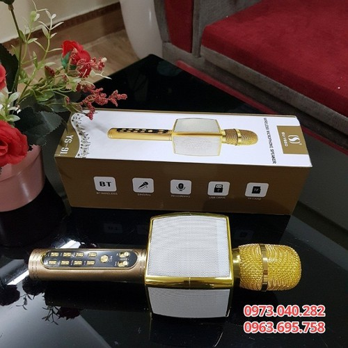 Micro không dây karaoke bluetooth-micro karaoke gia đình ys91