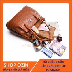 Túi đeo thời trang đựng phụ kiện da cá sấu- OZ11