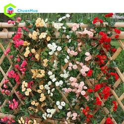 Dây hoa hồng 69 bông dài 1M8 trang trí tiệc