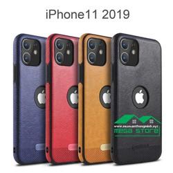 Ốp Lưng IPhone 11 - 6.1 inch - Da Bò Xịn - Thời trang và Bảo vệ Điện thoại Toàn diện - Nhập khẩu Chính hãng MIKKI