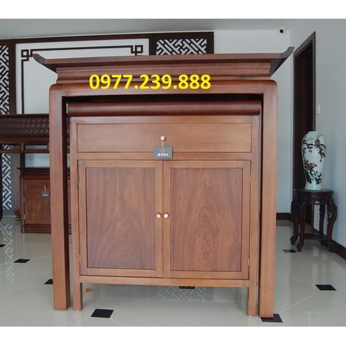 Bộ đồ thờ gỗ gụ 107cm - 17123137 , 22676649 , 15_22676649 , 13899000 , Bo-do-tho-go-gu-107cm-15_22676649 , sendo.vn , Bộ đồ thờ gỗ gụ 107cm