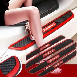 Bộ 04 Miếng Dán Bảo Vệ Bậc Bước Chân Cửa Xe Ô Tô Sports giá tốt