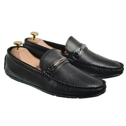Giày Lười Da Nam Thời Trang-Giay Quai Sắt