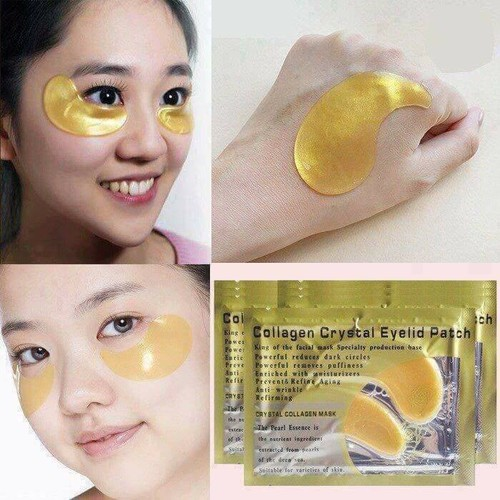 Combo 5 mặt nạ cho mắt collagen crystal eyelid patch