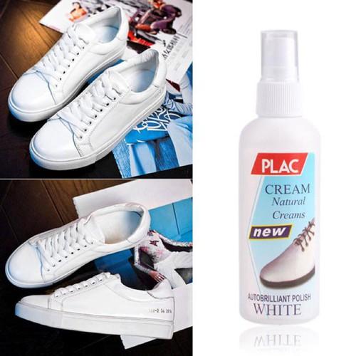 Tẩy trắng chai xịt tẩy trắng giày dép túi xách plac khomuare