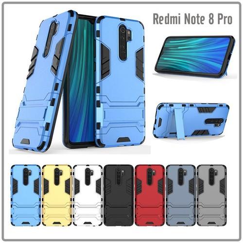 Ốp lưng xm redmi note 8 pro iron - man nhựa pc cứng viền dẻo chống sốc